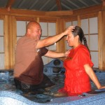 PattyWorshippingJesusMarch262010Baptism