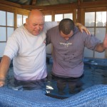 Pastor Fee praying for Tony thanking God for his walk of obedience January 28, 2013