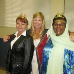 Diana Cage, Pam Edwards and Friend April 22, 2013