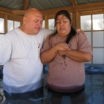 Rita Giving Her Heart To Jesus Baptism Day October 8, 2015.