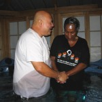 Sister Pam asking Jesus to continue to use her Baptism Day November 1, 2015
