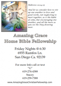 Friday Night Home Fellowship